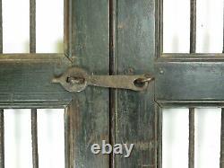 Paire De Portes De Porte De Jardin Indiennes Rustiques De Cru (ref513)