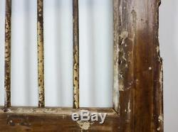 Paire De Vintage Rustic Indian Jali Garden Gate Portes (ref520)