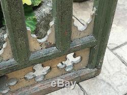 Panneau Vintage Sculpté En Bois Indien Balcon Salvaged D'une Église Dans Le Rajasthan 3