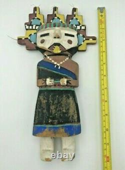 Poupée Antique Vintage Hopi Indian Kachina