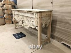 Table Antique Antique De Console Indienne De Bois