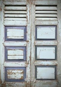 Vieilles Portes Fermées. Le Style Français. Puducherry. Tamil Nadu Inde. 2 Disponible