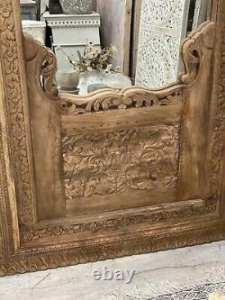 Vieux Miroir Indien Haut