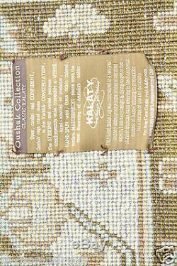 Vintag Cr1980-1990s Indo-paky Nouvelle-zélande Pile Laine Tapis 10x14ft