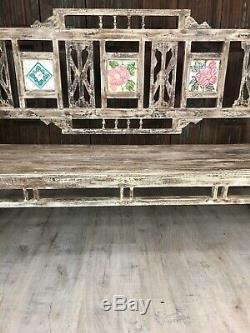Vintage Banc Indien / Siège