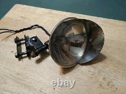 Vintage Harley Spotlight Indian Knucklehead Panhead Rl VL Antique Spot Lamp Rare