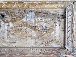 Vintage Indian Arch Cadre De Fenêtre En Bois 5 Avilable (mill 844)