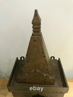 Vintage Indian Temple Shrine Puja Temple Forme Antique Unique Hand Made