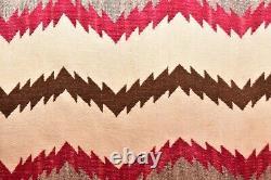 Vintage Navajo Rug Native American Indian Tissage Textile 35x16 Antique