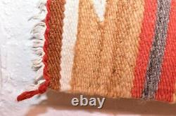 Vintage Navajo Rug Native American Indian Tissage Textile 37x20 Antique