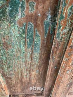 Volets En Bois Vintage Ou Fenêtre Portes Bois Dur Indien 127x72 CM Poteau Gratuit